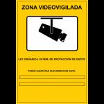 cartel video vigilancia